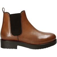 Sapatos Mulher Botins Mally 5535J Castanho