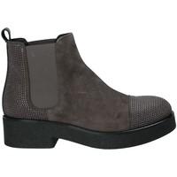 Sapatos Mulher Botins Mally 5536 Castanho