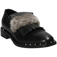 Sapatos Mulher Mocassins Mally 5970 Preto