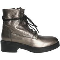 Sapatos Mulher Botins Mally 6005 Cinzento
