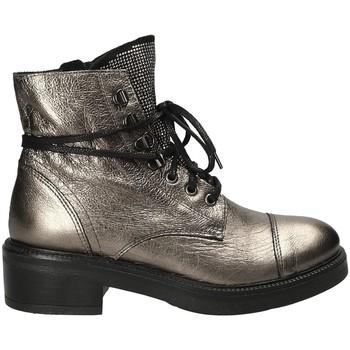Sapatos Mulher Botins Mally 6019 Cinzento
