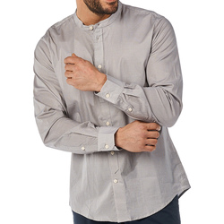 Textil Homem Camisas mangas comprida Gaudi 811BU45012 Cinzento