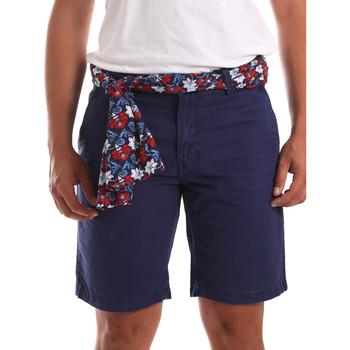 Textil Homem Shorts / Bermudas Gaudi 911BU25032 Azul