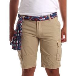 Textil Homem Shorts / Bermudas Gaudi 911BU25034 Bege