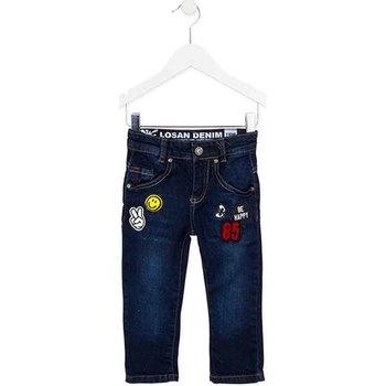 Textil Criança Calças de ganga slim Losan 725 9006AC Azul