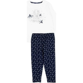 Textil Rapariga Conjunto Losan 726 8003AD Branco