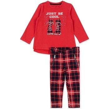 Textil Rapariga Conjunto Losan 726 8013AD Vermelho
