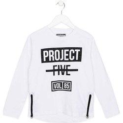 Textil Criança T-shirt mangas compridas Losan 723 1010AA Branco