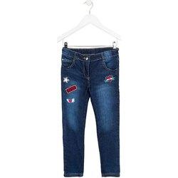 Textil Criança Calças de ganga slim Losan 724 6030AB Azul