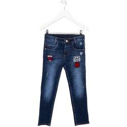 Textil Criança Calças de ganga slim Losan 723 9003AA Azul