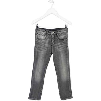 Textil Criança Calças de ganga slim Losan 723 6012AA Cinzento