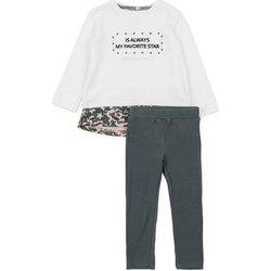 Textil Rapariga Conjunto Losan 726 8036AD Branco