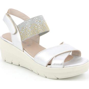 Sapatos Mulher Sandálias Grunland SA1880 Prata