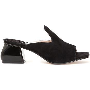 Sapatos Mulher Chinelos Café Noir ME573 Preto