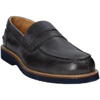 Sapatos Homem Mocassins Exton 9102 Cinzento