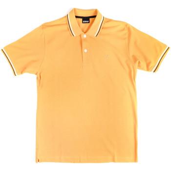 Textil Homem Polos mangas curta Key Up 2Q70G 0001 Amarelo