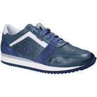 Sapatos Homem Sapatilhas Exton 558 Azul