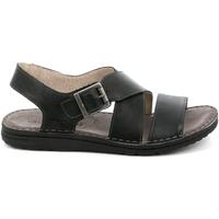 Sapatos Homem Sandálias Grunland SA1853 Preto
