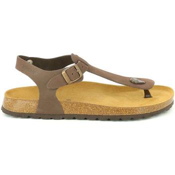 Sapatos Homem Sandálias Grunland SB3221 Castanho
