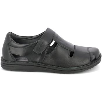 Sapatos Homem Sandálias Grunland SA1515 Preto