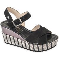 Sapatos Mulher Sandálias Valleverde 32435 Preto