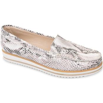 Sapatos Mulher Mocassins Valleverde 11108 Bege