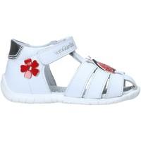 Sapatos Criança Sandálias NeroGiardini E018090F Branco