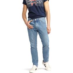 Textil Homem Calças Jeans Wrangler W18RER Azul