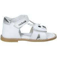 Sapatos Rapariga Sandálias Melania ME8002B8E.A Branco