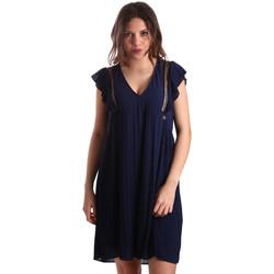 Textil Mulher Vestidos curtos Gaudi 911BD15020 Azul