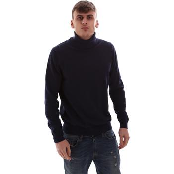 Textil Homem camisolas Antony Morato MMSW00975 YA200055 Azul