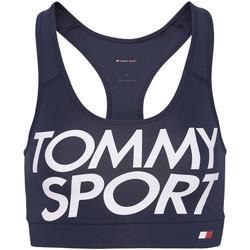 Textil Mulher Tops e soutiens de desporto Tommy Hilfiger S10S100070 Azul