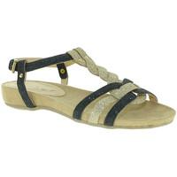 Sapatos Mulher Sandálias Mally 3828 Preto