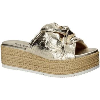 Sapatos Mulher Chinelos Pregunta IL02402-CL Amarelo