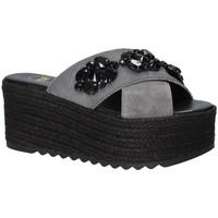 Sapatos Mulher Chinelos Exé Shoes G4700885736T Preto