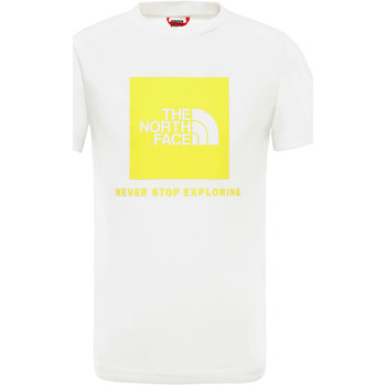 Textil Criança T-Shirt mangas curtas The North Face NF0A3BS2P801 Branco