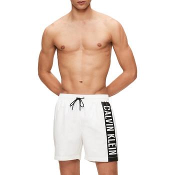 Textil Homem Fatos e shorts de banho Calvin Klein Jeans KM0KM00437 Branco