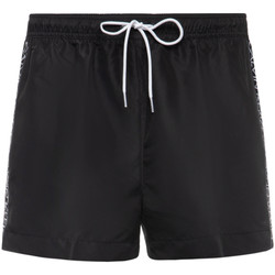 Textil Homem Shorts / Bermudas Calvin Klein Jeans KM0KM00457 Preto