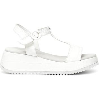 Sapatos Mulher Sandálias Café Noir HB950 Branco