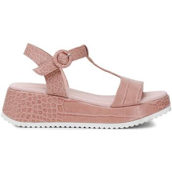 Sapatos Mulher Sandálias Café Noir HB950 Rosa