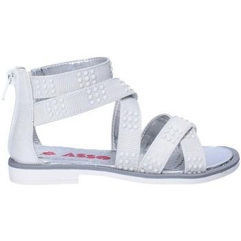 Sapatos Rapariga Sandálias Asso 64026 Cinzento