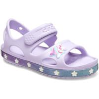 Sapatos Criança Sandálias Crocs 206366 Rosa