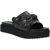 Sapatos Mulher Chinelos Grunland CI1519 Preto
