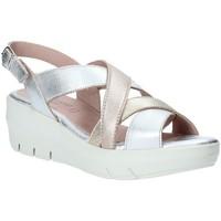 Sapatos Mulher Sandálias Grunland SA1876 Prata