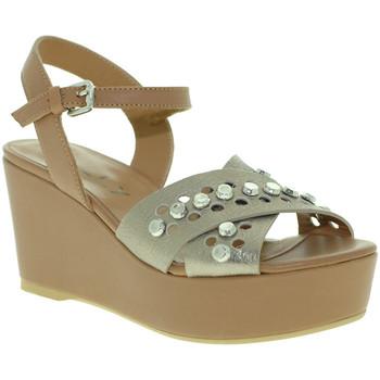 Sapatos Mulher Sandálias Mally 6237 Castanho