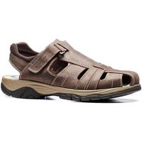 Sapatos Homem Sandálias Stonefly 108693 Castanho