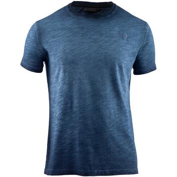 Textil Homem T-Shirt mangas curtas Lumberjack CM60343 004 517 Azul