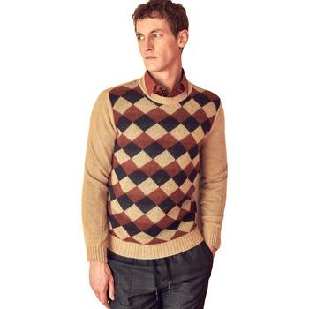 Textil Homem camisolas Antony Morato MMSW00855 YA400113 Bege