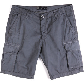 Textil Homem Shorts / Bermudas Key Up 2P16A 0001 Azul