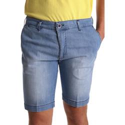 Textil Homem Shorts / Bermudas Sei3sei PZV132 7118 Azul
